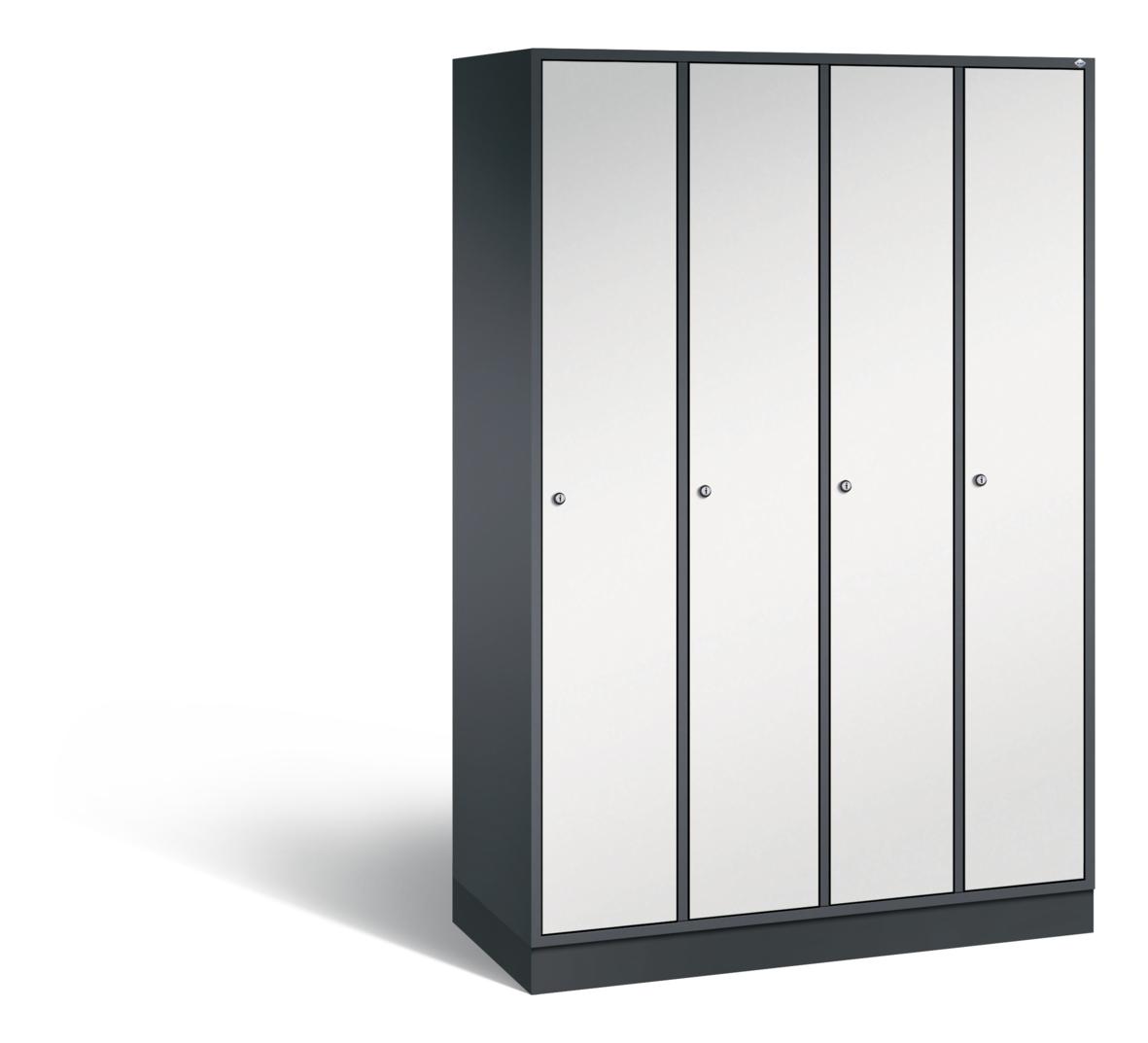 C+P Garderobenschrank Intro, H1950xB1220xT490mm